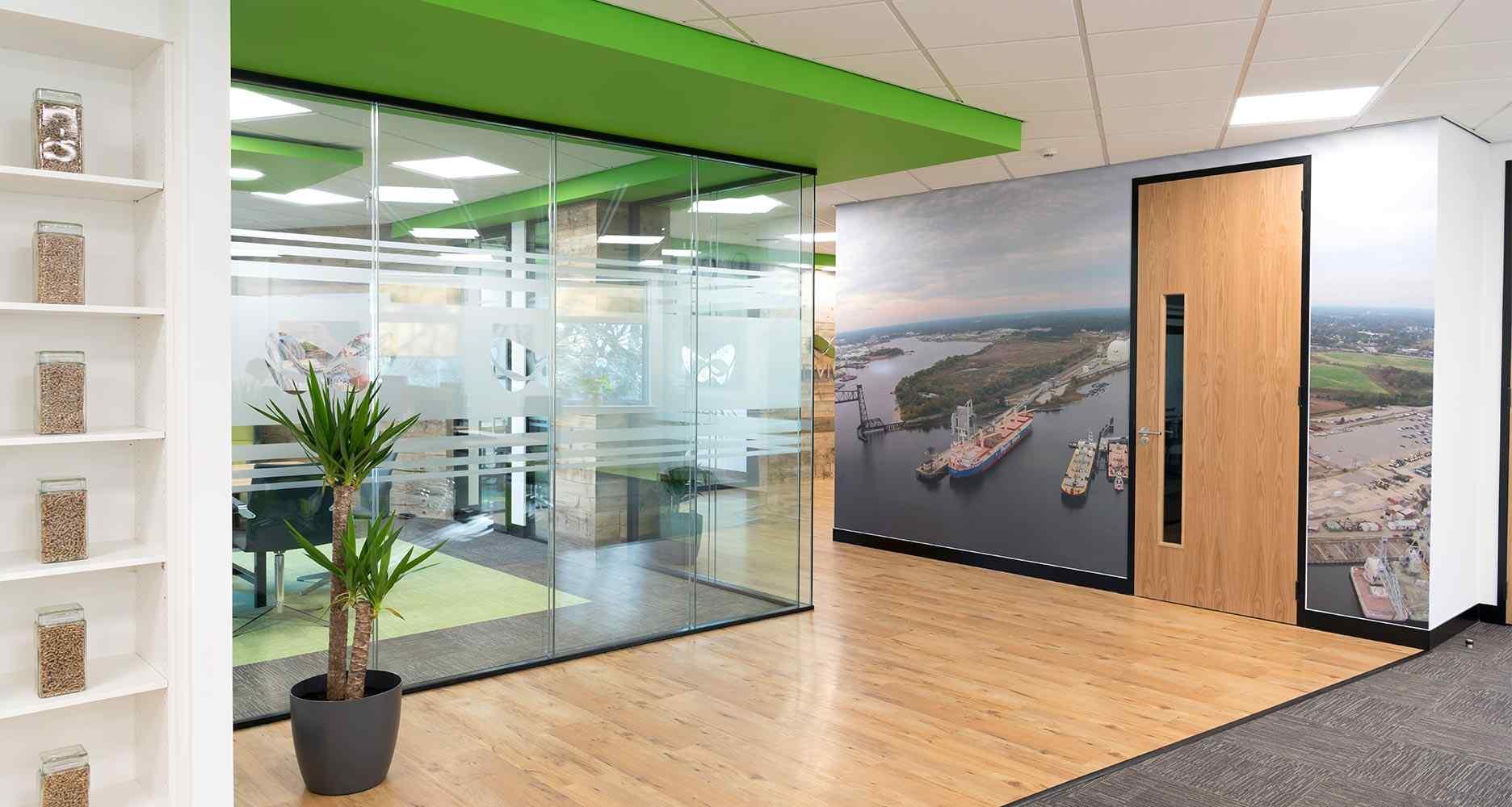 Office Design Fit Out Refurbishment Case Studies Saracen Interiors